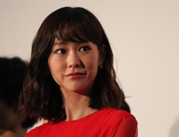 桐谷美玲主演映画のイベントにて