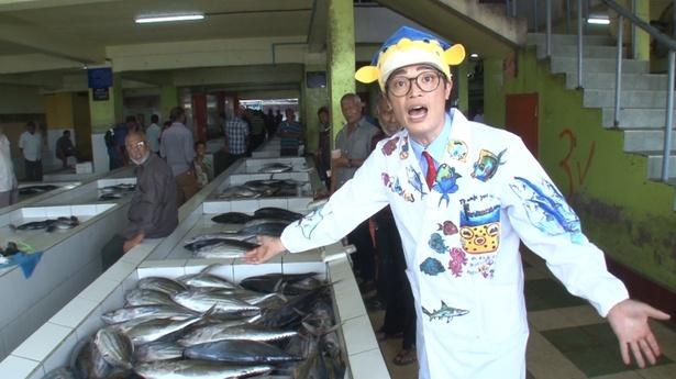 モルディブへ向かったさかなクンは現地の独特な魚料理にギョギョギョを連発!