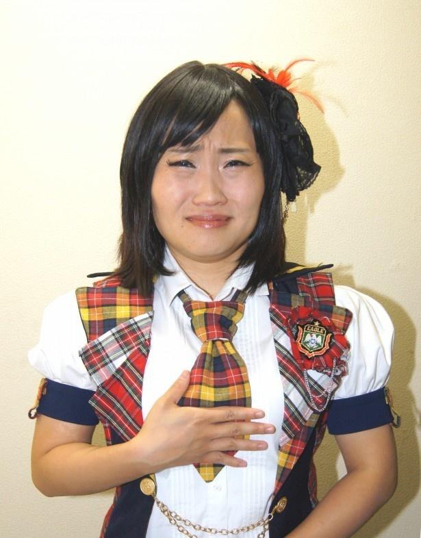 社交ダンス全日本シニアI選手権で初優勝したキンタロー。