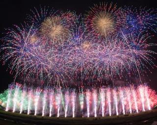 「東京花火大祭~EDOMODE~」当日開催速報!東京湾に世界に誇る花火師の技術が結集