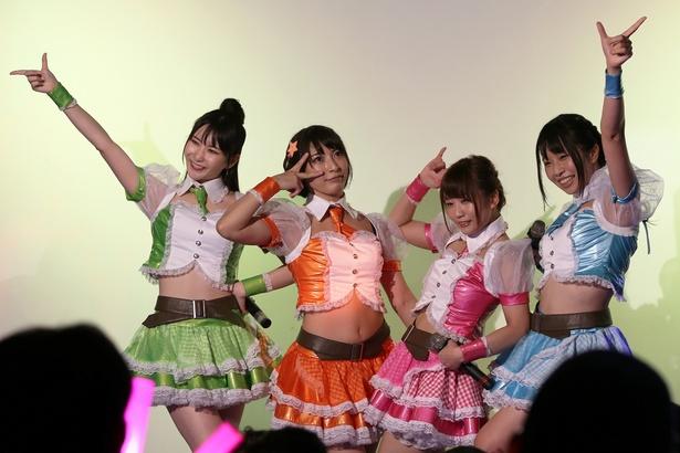 8月3日に出演したTIFのステージでも観客を魅了したマシュマロ3d+