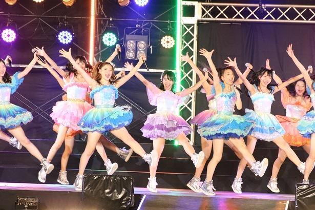 8月6日に愛知・小野浦海水浴で行われた「美浜海遊祭2018 SKE48 Special Live Show」の未掲載SHOT集(M29「12月のカンガルー」~M32「奇跡の流星群」)