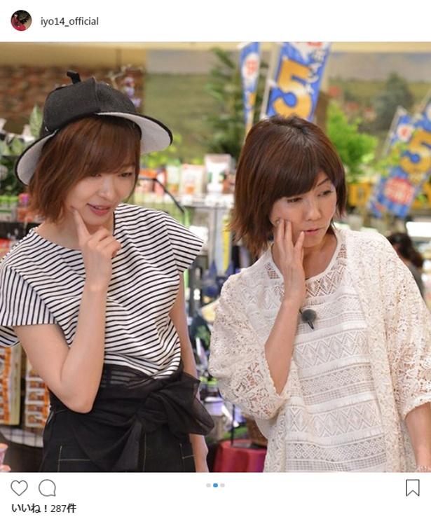 主婦目線で買い物を楽しむ松本伊代と指原莉乃