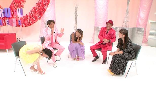 dTVの人気バラエティー「トゥルルさまぁ~ず」の最新話にSUPER☆GiRLS・浅川梨奈が登場
