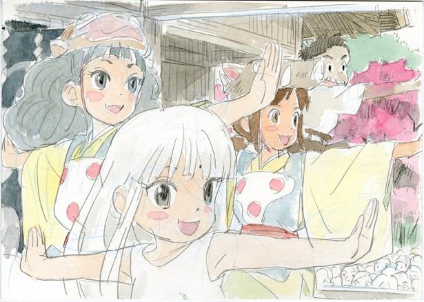 劇場版『若おかみは小学生!』の初お披露目となるイメージボードが到着!