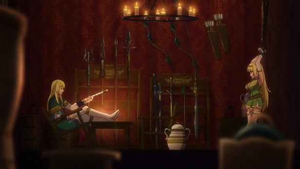 「異世界魔王と召喚少女の奴隷魔術」第7話の先行カットが到着。シェラとの突然の別れ!?