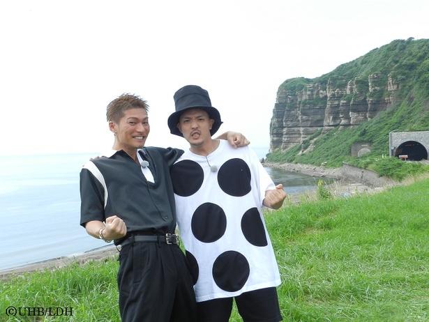 男旅初の企画に挑戦するEXILE SHOKICHIとKEISEI