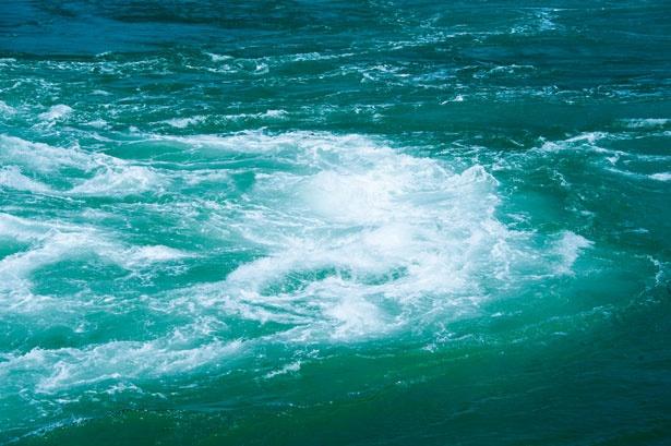 轟音や船を揺さぶる振動は写真や動画では伝えきれないド迫力!/うずしおクルーズ