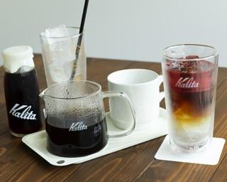 コーヒーの魅力を伝える「Kalita」プロデュースのカフェ