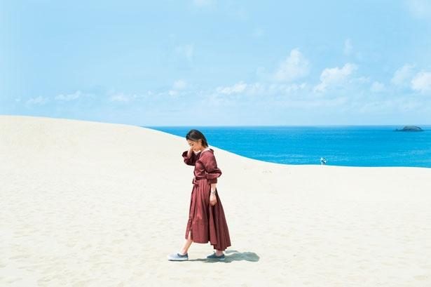 海へ流れ出た砂が唯一無二の景色を創り出した鳥取砂丘/鳥取砂丘
