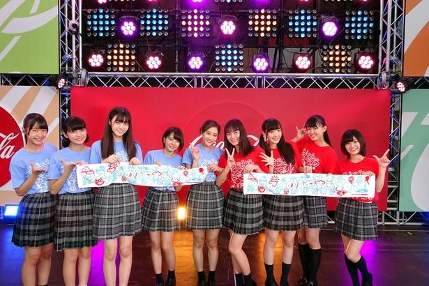 LaLuce、Good Tearsの二組がSUMMER STATION LIVEアリーナ(六本木ヒルズアリーナ)に登場!