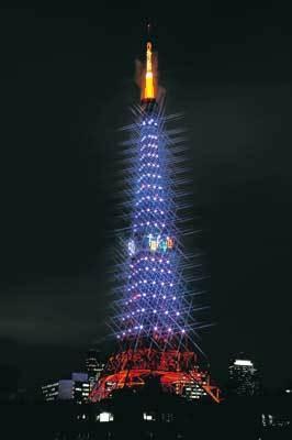 お気に入りの角度を探そう!芝公園の東京タワー