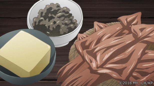 「かくりよの宿飯」第21話の先行カットが到着。天神屋のお涼が客として折尾屋にやってきて!?