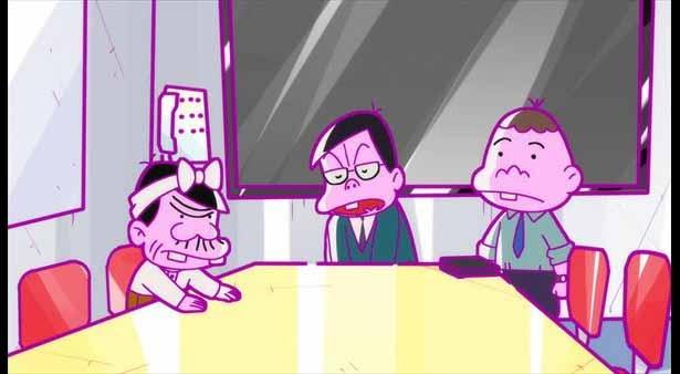 「深夜!天才バカボン」第7話の先行カットが到着。バカボンが人気声優に!?