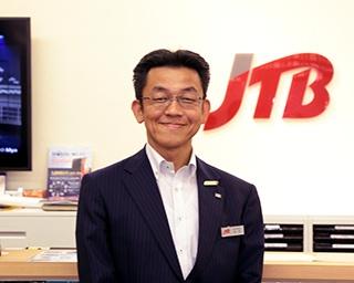 今回お話を聞かせてくれた、株式会社JTB 西日本インバウンド部 営業統括担当部長 松岡日出人さん