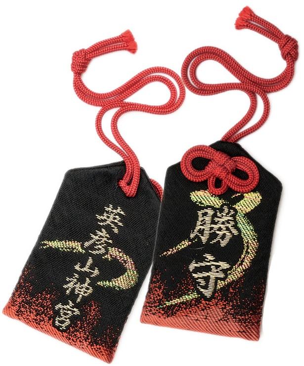 """【写真を見る】英彦山神宮 / """"勝""""という字を3つも含んだ神が清める、最強の「勝守」(800円)"""