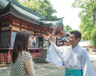 八幡朝見神社 / 別府で幸運の道を切り開こう