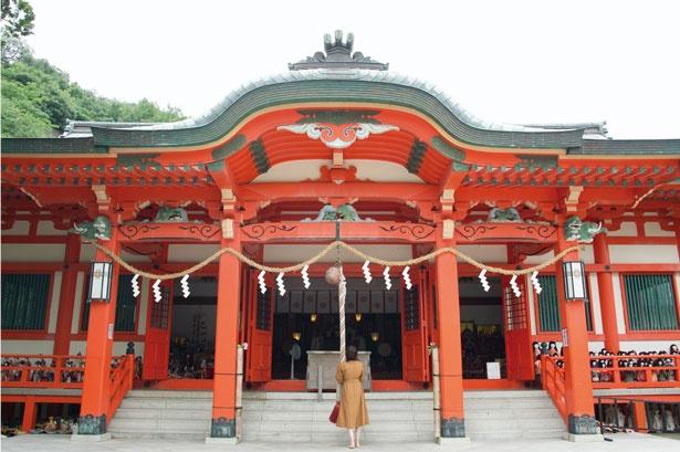 地元では、あわしまさんとして親しまれている/淡嶋神社
