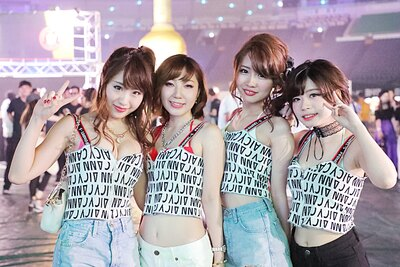 「MUSIC CIRCUS FUKUOKA」で見つけた美女たち