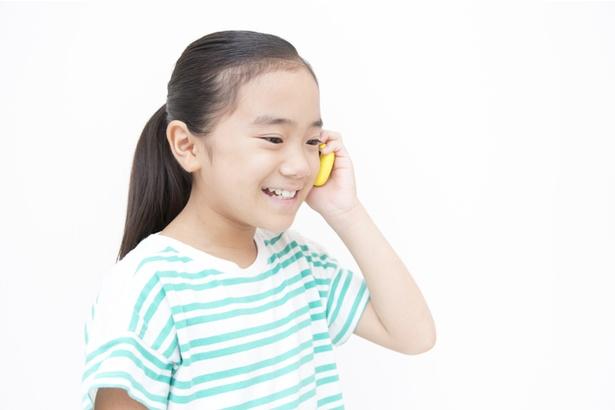 小学生の半数以上が携帯電話を所有している?