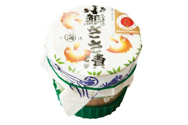 小鯛ささ漬大樽(1944円)/若狭小浜 丸海 小浜本店