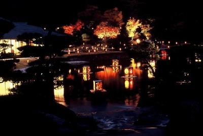 南湖公園の紅葉