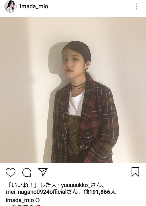 今田美桜、約3週間ぶりのSNS更新にファン狂喜「待ってました!」「超絶おしゃれ」