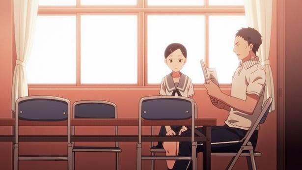 「ちおちゃんの通学路」第8話の先行カットが到着。パンツ丸見えのピンチ!?
