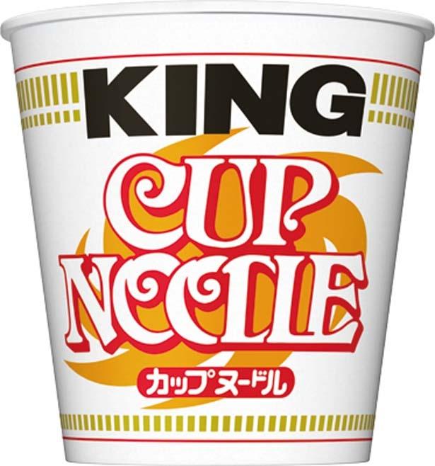「カップヌードル キング」(248円、120g/麺105g、537kcal、食塩相当量7.6g)