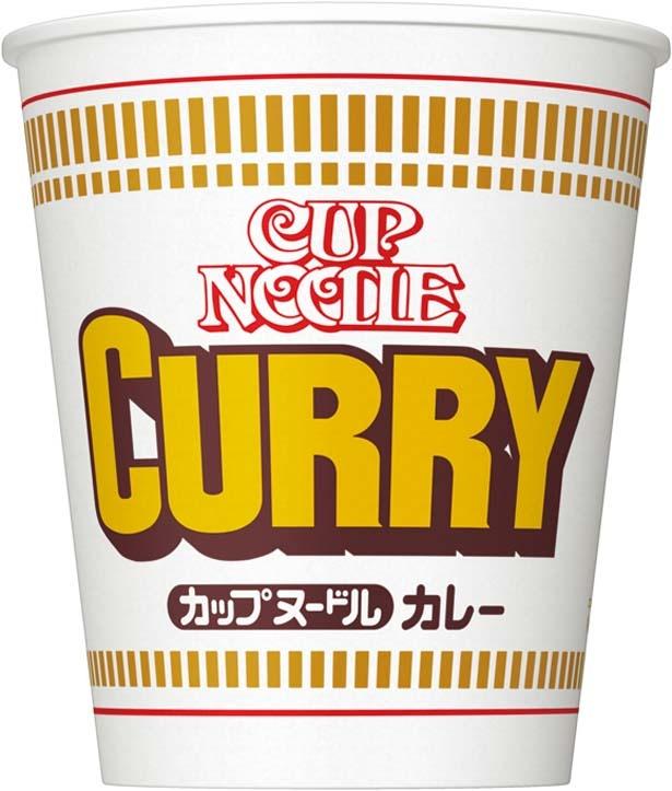 「カップヌードル カレー」(194円、87g/麺60g、422kcal、食塩相当量4.3g)