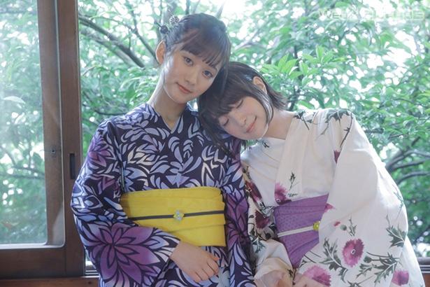 上田麗奈フォトコラム・夏の終わりに浴衣で2人で【前編】