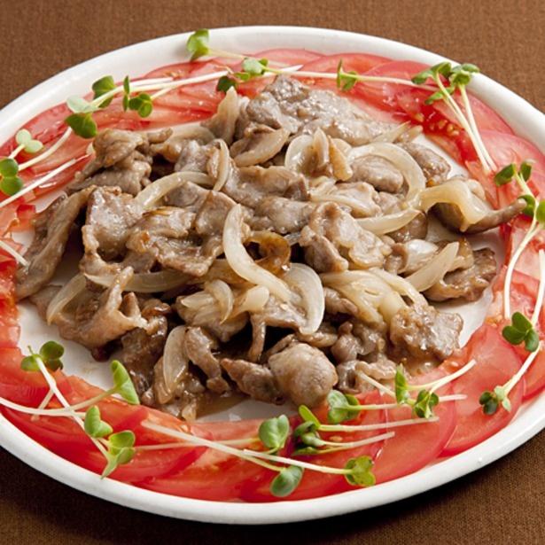 甘酸っぱい味でご飯が進む「豚肉の甘酢炒め」