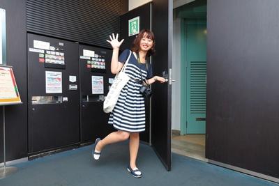 エレベーターで3階まで上がり、チケットを購入したら展望階段へ!(名古屋テレビ塔)