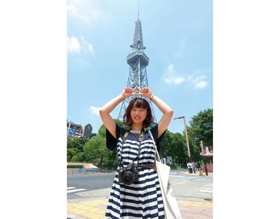 名古屋テレビ塔とパシャ!オアシス21前から撮影すると絵になる(名古屋テレビ塔)