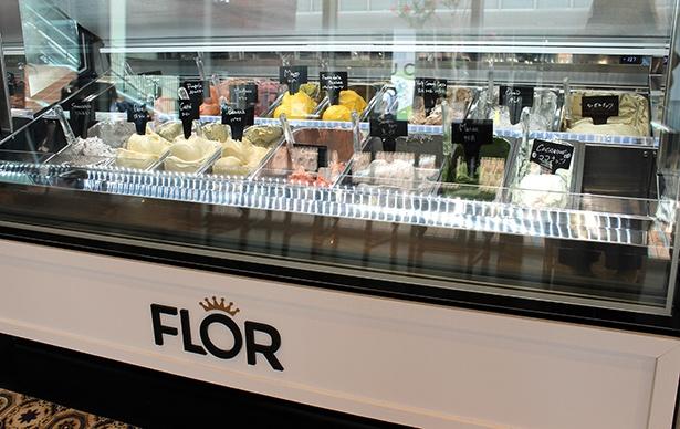 店頭には季節やイベントなどに応じて選ばれたフレーバーが、常時20種類ほど並ぶ