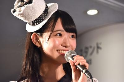 AKB48の山内瑞葵さん(トークイベント「AKB48グループ大集合スペシャル」より)