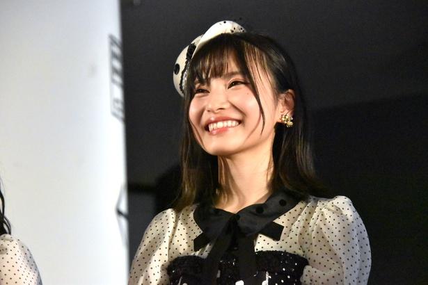 【写真を見る】AKB48の福岡聖菜さん(トークイベント「AKB48グループ大集合スペシャル」より)