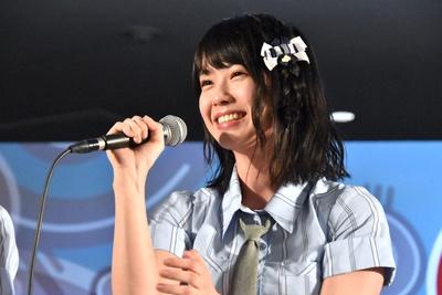 AKB48チーム8の小田えりなさん(トークイベント「AKB48グループ大集合スペシャル」より)