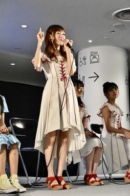 NGT48の山口真帆さん(トークイベント「AKB48グループ大集合スペシャル」より)
