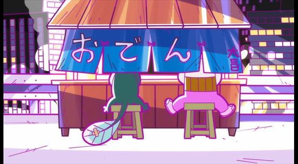 「深夜!天才バカボン」第8話の先行カットが到着。パパがウナギイヌに無理やり…