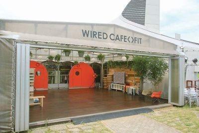 【写真】トレーラーハウスを再生させた「WIRED CAFE<>FIT」はほっこりと落ち着ける場所!
