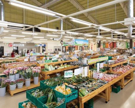 長野県最大級の産直市場「JA上伊那 ファーマーズあじ~な」(長野県上伊那)