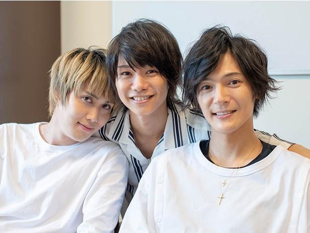 上田堪大、碕 理人、北川尚弥がファンと一緒に「おでかけ!」横浜ロケを振り返る