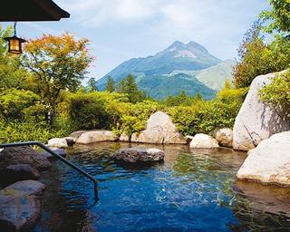 ゆふいん山水館 / バイキングや地ビールなど湯上りのお楽しみも充実