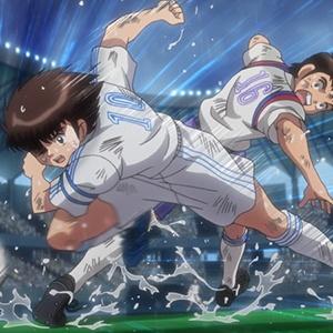 「キャプテン翼」第22話のカットが到着。南葛SCvs武蔵FC、勝利はどちらの手に!?