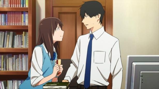【写真を見る】アニメ版の桜良と「ボク」はこちら