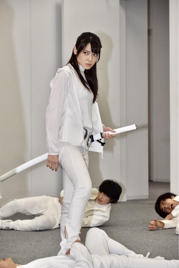 矢島舞美さん 公開稽古より