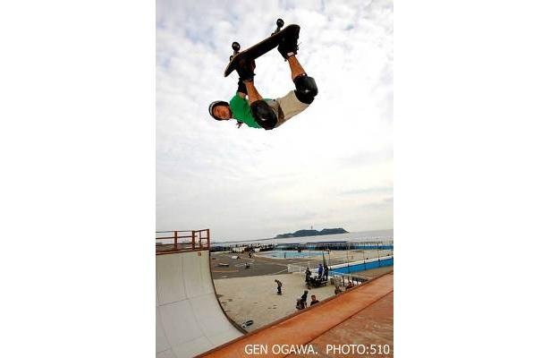 小川元さんなど、日本を代表するスケーターの迫力満点の演技が目の前で楽しめる!