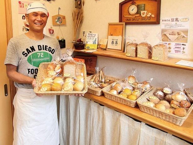 安全・安心な天然酵母パンを作る「天然パン工房 楽楽」