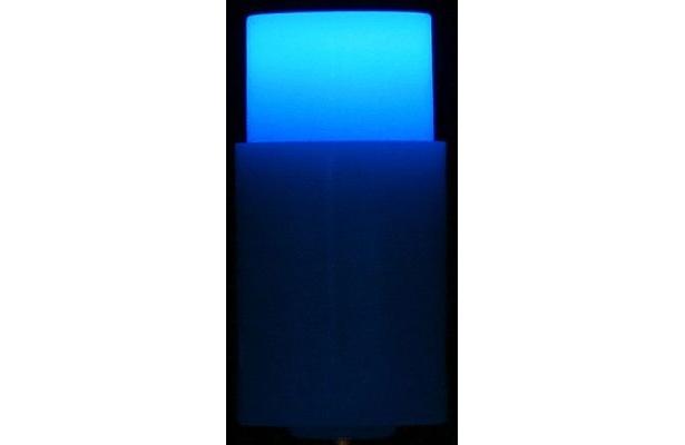 ブルー点灯時